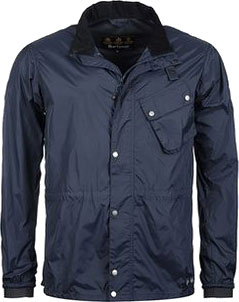 Větrová bunda BROMPTON Barbour Newham Jacket - Navy Blue