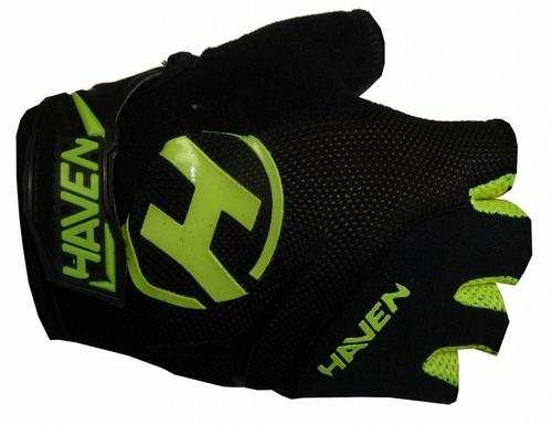 Rukavice Haven Demo Kids Shorty black/green