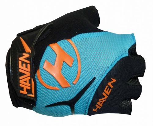 Rukavice Haven Demo Kids Shorty blue/orange