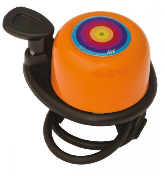Zvonek Liix Scooter Rainbow Ring Orange