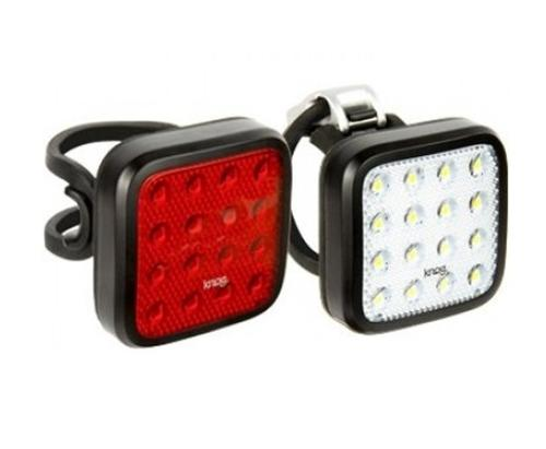 Knog Blinder MOB Twinpack Kid Grid