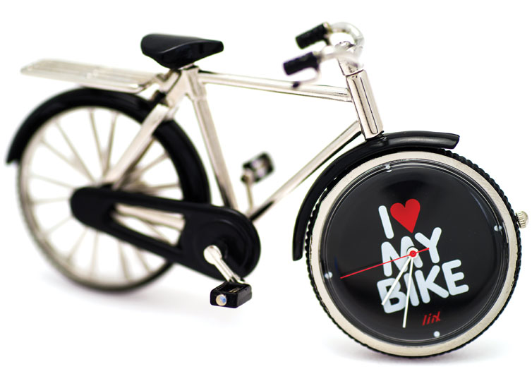Liix I Love My Bike Clock