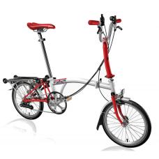 skl�dac� kolo Brompton Red edition 6 rychlost�