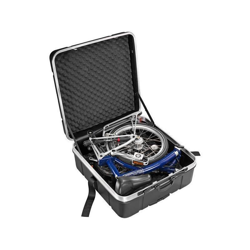 přepravní kufr na kola BROMPTON
