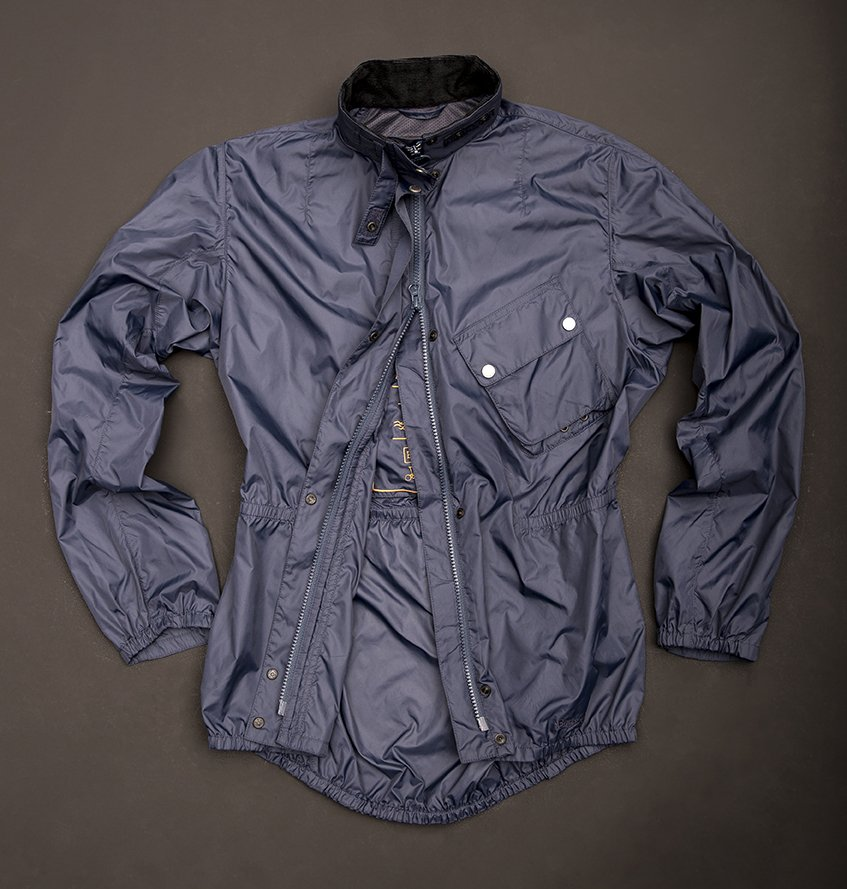 Větrovka Barbour Newham Jacket Navy Blue