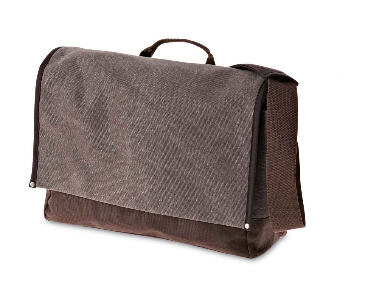Bra�na - Urban fold messenger bag brown