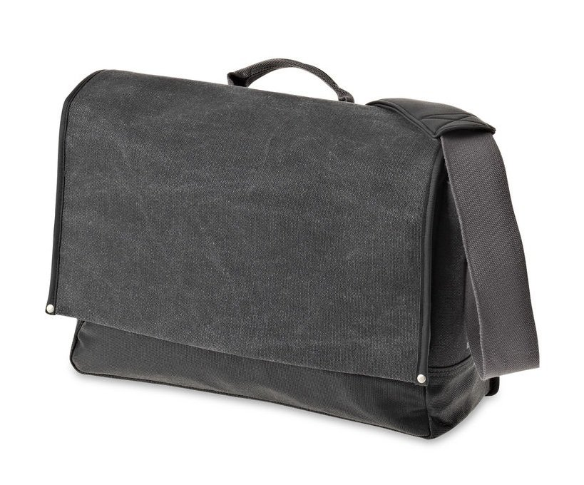 Brašna - Urban fold messenger bag black