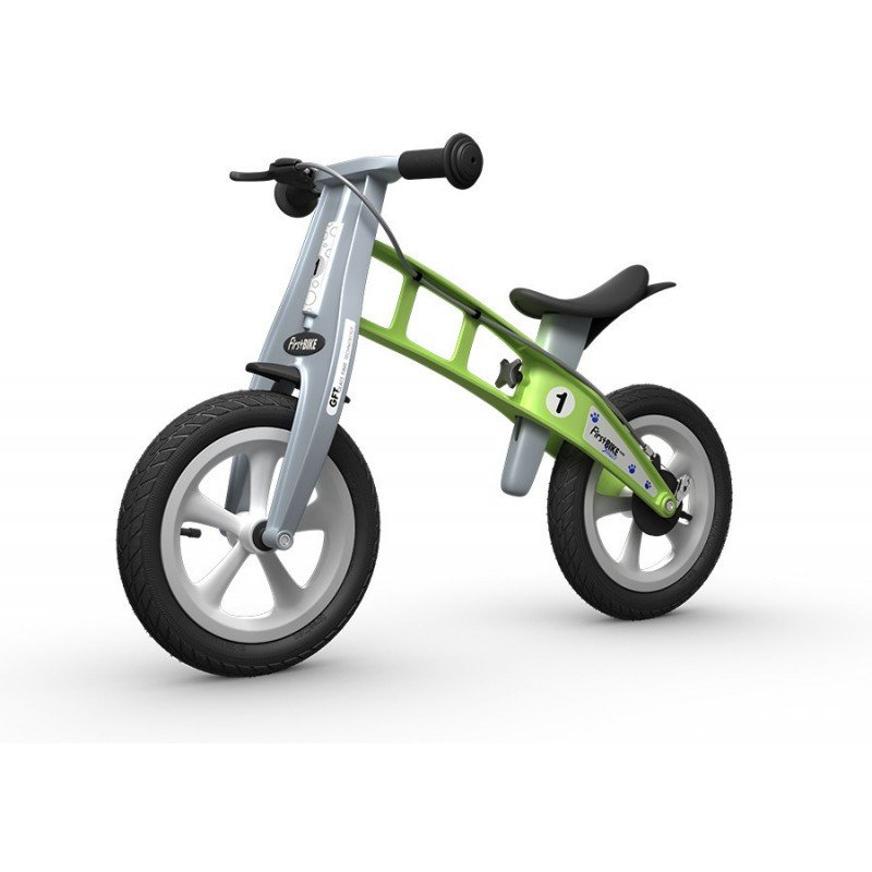 First Bike odrážedlo STREET světle modré First Bike odrážedlo STREET BARVA Zelená