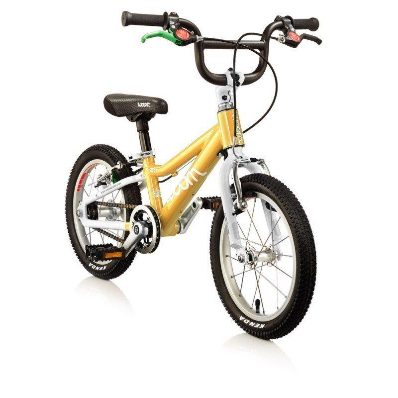 Dětské lehké kolo WOOM 2 lehké dětské kolo pro děti ve věku 3-4,5 let BARVA Žlutá