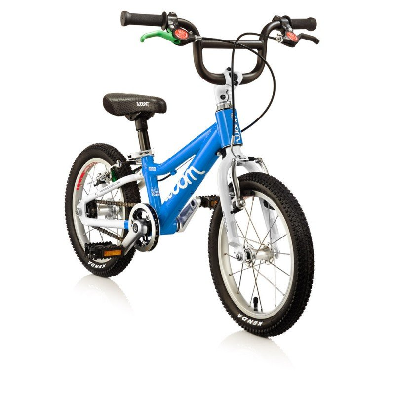 Dětské lehké kolo WOOM 2 lehké dětské kolo pro děti ve věku 3-4,5 let BARVA Barva modrá