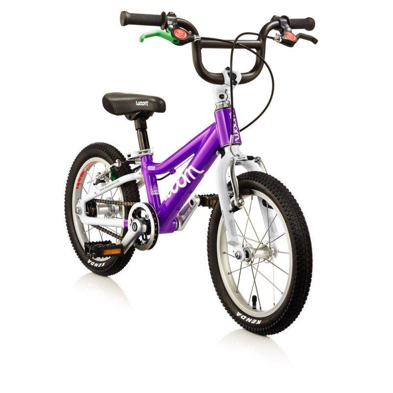 Dětské lehké kolo WOOM 2 lehké dětské kolo pro děti ve věku 3-4,5 let BARVA Fialová