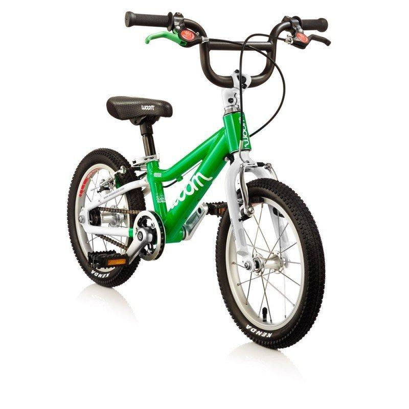 Dětské lehké kolo WOOM 2 lehké dětské kolo pro děti ve věku 3-4,5 let BARVA Zelená