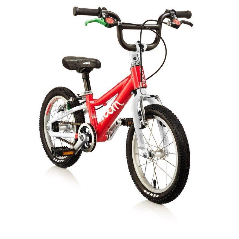 Dětské lehké kolo WOOM 2 lehké dětské kolo pro děti ve věku 3-4,5 let BARVA Červená