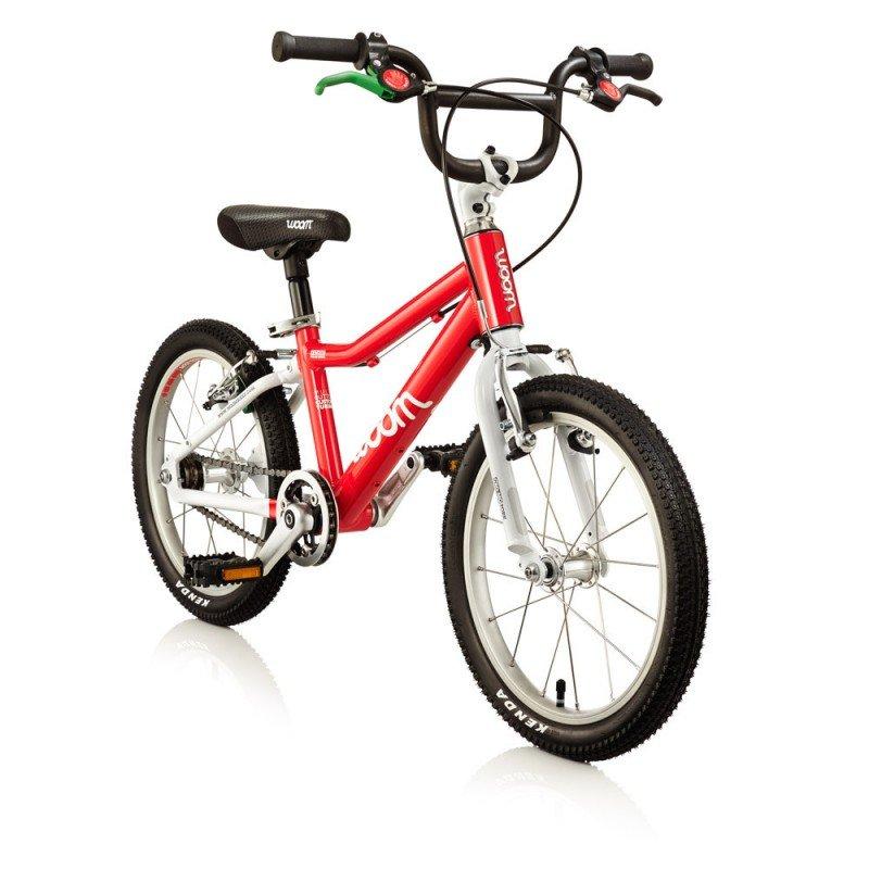 Dětské lehké kolo WOOM 3 lehké dětské kolo pro děti ve věku 4-6 let BARVA Červená