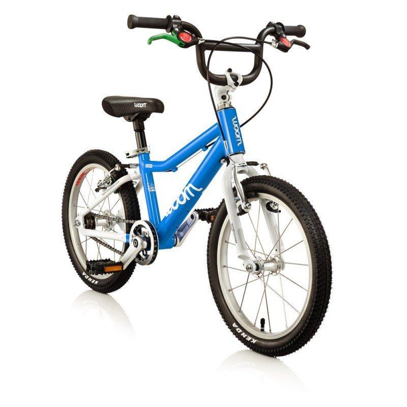 Dětské lehké kolo WOOM 3 lehké dětské kolo pro děti ve věku 4-6 let BARVA Barva modrá
