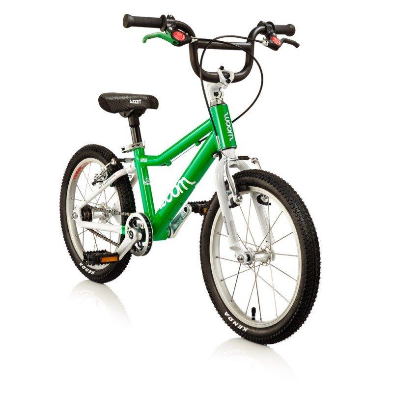 Dětské lehké kolo WOOM 3 lehké dětské kolo pro děti ve věku 4-6 let BARVA Zelená
