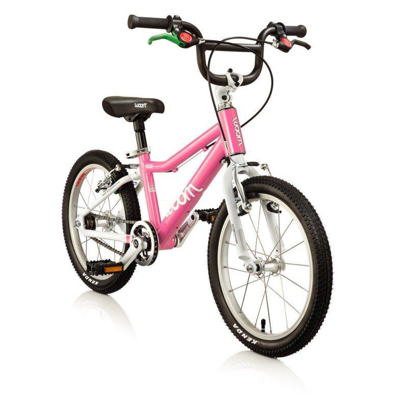 Dětské lehké kolo WOOM 3 lehké dětské kolo pro děti ve věku 4-6 let BARVA Růžová