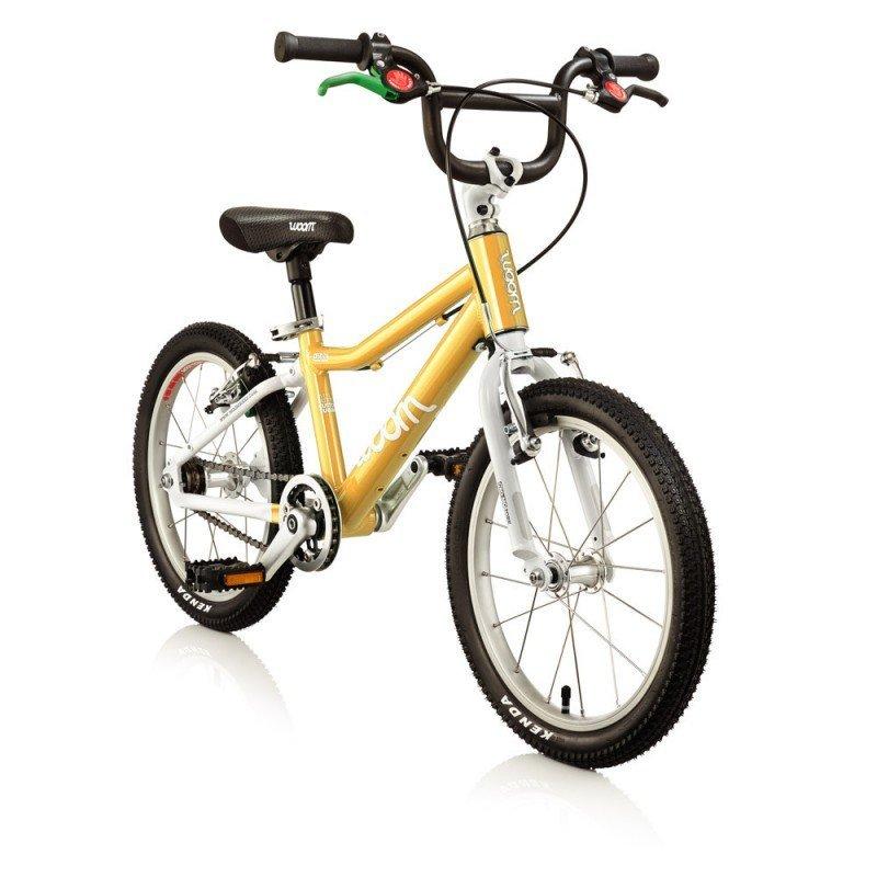 Dětské lehké kolo WOOM 3 lehké dětské kolo pro děti ve věku 4-6 let BARVA Žlutá