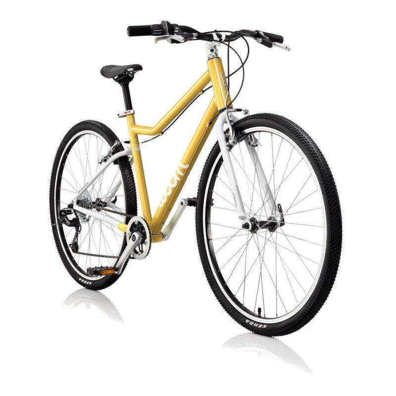 Dětské lehké kolo WOOM 6 lehké dětské kolo pro děti ve věku 10-14 let BARVA Žlutá
