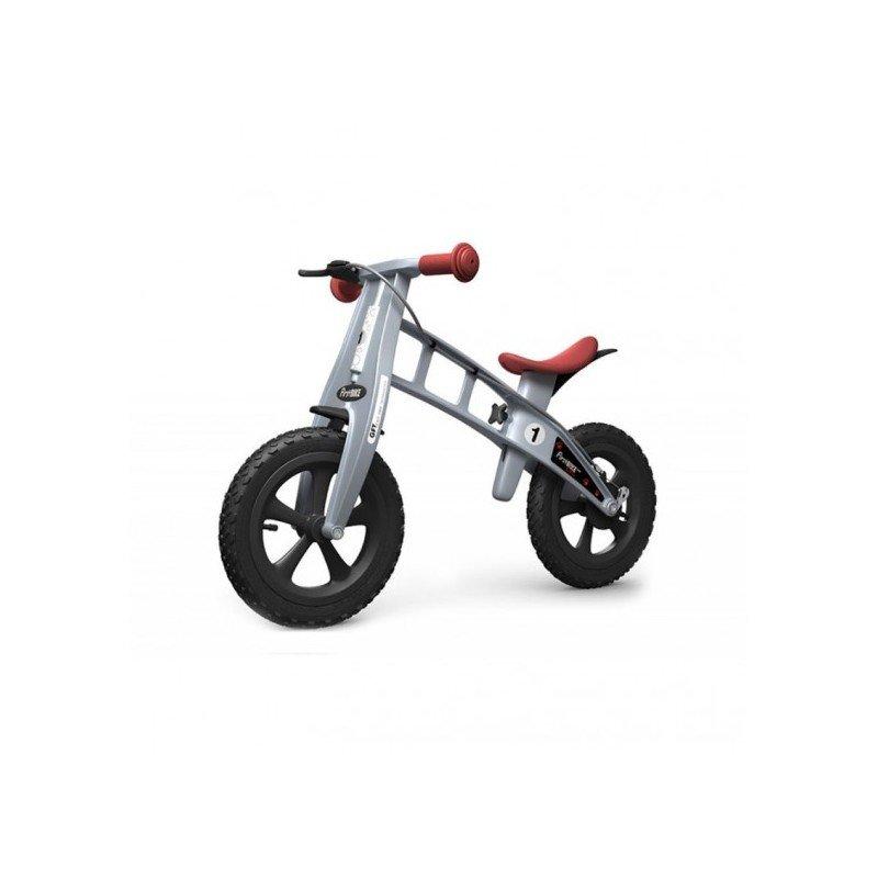 First Bike CROSS s ruční brzdou 2016 BARVA Stříbrná