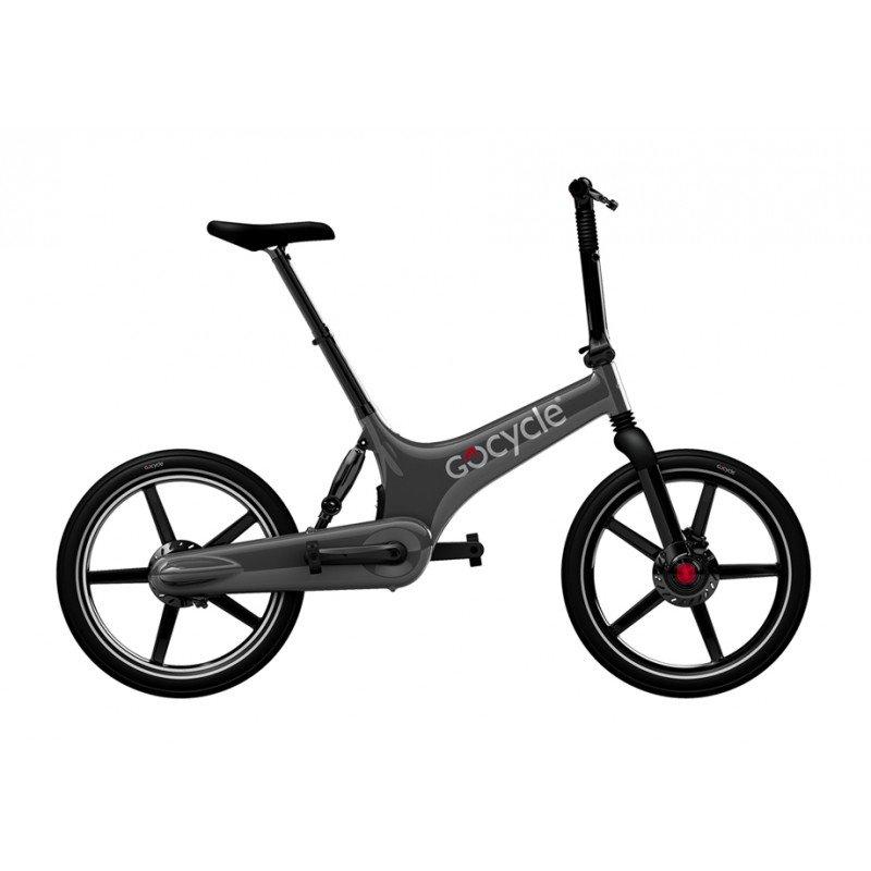 Gocycle G2R 2015 BARVA GOCYCLE Šedá