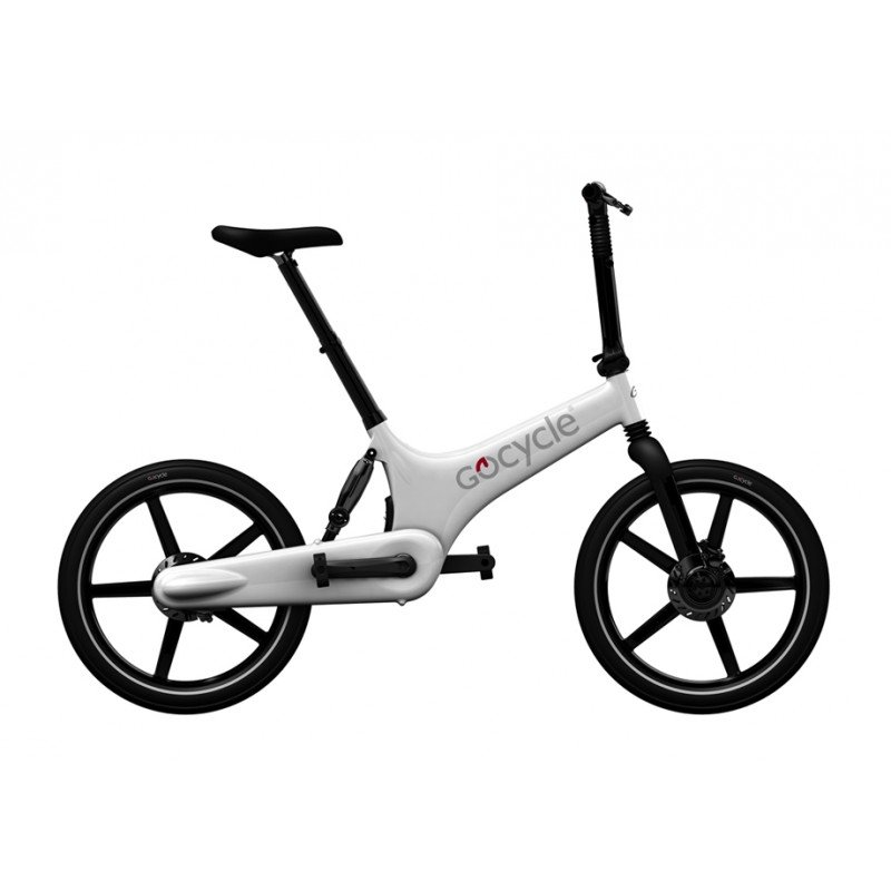 Gocycle G2R 2015 BARVA GOCYCLE Bílá