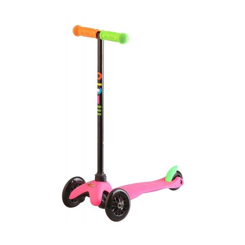 Mini Micro Mini Micro koloběžka pro děti BARVA mini micro neon růžová