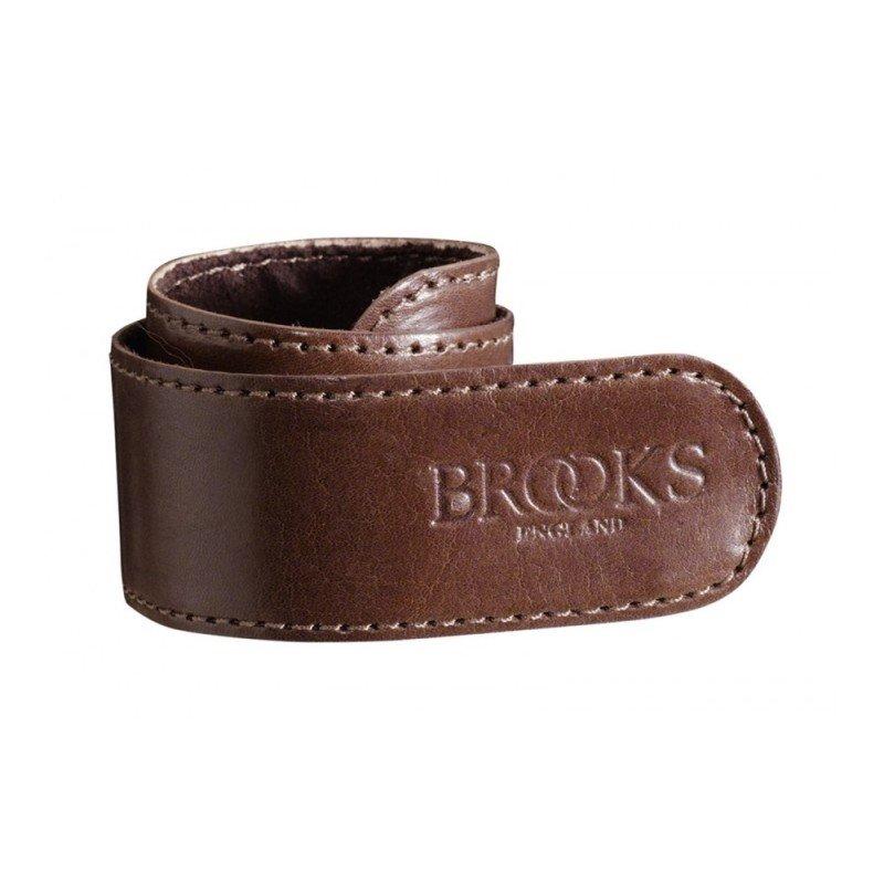 Kožený pásek na kalhoty BROOKS Trouser strap BARVA BROOKS Hnědá