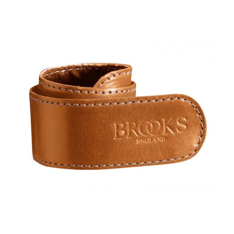 Kožený pásek na kalhoty BROOKS Trouser strap BARVA BROOKS Medová