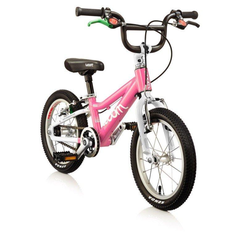 Dětské lehké kolo WOOM 2 lehké dětské kolo pro děti ve věku 3-4,5 let BARVA Růžová